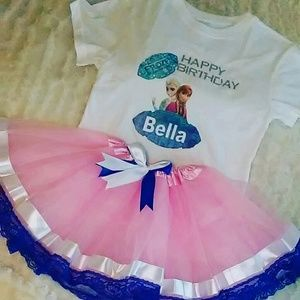 Other - Frozen Tutu Out Fit